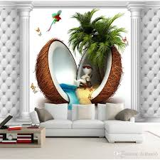 Small Picture Creative Custom 3d Photo Wallpaper Hd Sea View Tv Background Wall