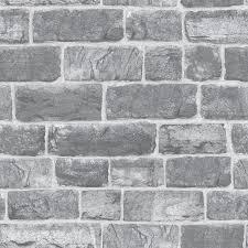 permalink to perfect brick wallpaper grey inspirations