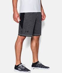 under armour shorts. steel, zoomed image under armour shorts