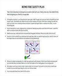 sample safety plan emergency evacuation plan template uk hurricane puntogov co