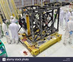 Integrated Science Instrument Module (ISIM) Structure Stock Photo - Alamy