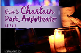 Chastain Seating Chastain Park Amphitheatre Seating Chart
