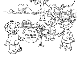 Pretentious Science Coloring Pages Printable Sid And Friends For