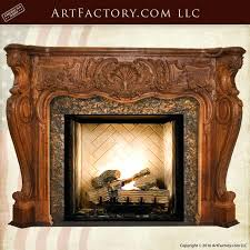 hand carved wood fireplace mantels hand carved wooden fire surrounds