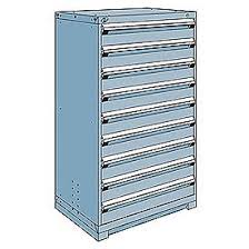 metal storage cabinet with drawers. Rousseau Metal Modular Storage Drawer Cabinet 36x24x60, 9 Drawers (1 Size) W/ With A