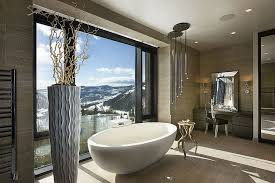 view gallery bathroom modular system progetto. Bathrooms: Snow Covered Peaks Greet You At This Luxurious Trasitional Bathroom View Gallery Modular System Progetto