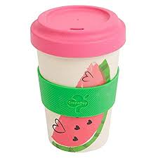 Reusable Coffee Cup With Lid And Silicone Sleeve   Bamboo Coffee Cup With  Tight Seal Cover