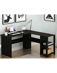Hutch Lshaped Home Office Corner Desk Amazoncom Home Office Desks Amazoncom