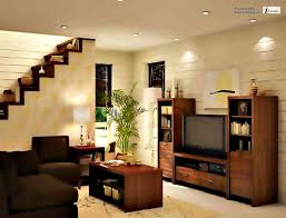 Simple Interior Design For Living Room Of Simple House Interior