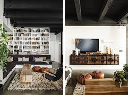 Industrial Design Living Room Amazing Industrial Living Room Decor Black And White And Wood Good