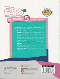 Kunci jawaban buku matematika kelas 5 halaman 28 pembagian bilangan asli dengan pecahan campuran. Buku Esps Erlangga Straight Point Series Matematika Kelas 5 Lazada Indonesia