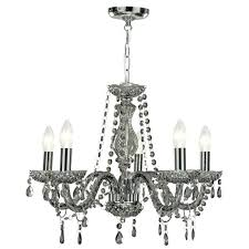 smoked glass chandelier large