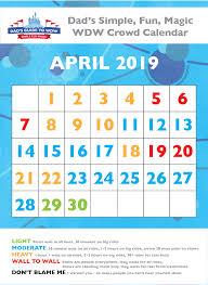 dad s april 2019 crowd calendar