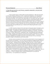 Personal Statement Outline Personal Statement Outline Example