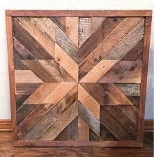 reclaimed wood wall art wood art