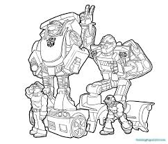 printable coloring pages of rescue bots