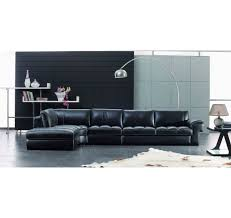 modern home and office furniture sbo3999 modern black leather sectional sofa set