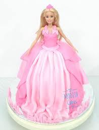 Princess Barbie Doll Fondant Cakes Modish Cakes