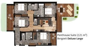 Penthouse Suiten Das Kaltenbach