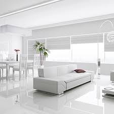 Black And White Floor Tile Living Room white tile living room floor