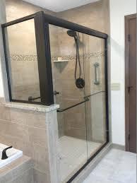 seamless glass shower medium size of glass shower doors shower door replacement custom shower stalls frameless
