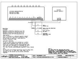 emergency station with momentary switch cornell communications Wiring Diagram For Nurse Call System visualnurse e 144schematic jpg wiring diagram for nurse call systems
