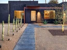 his front garden design modern