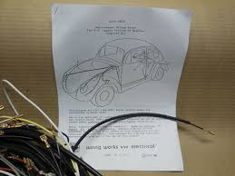 1972 73 77 dual carb cnv vw type 2 all wiring works main harness 1972 73 77 dual carb cnv vw type 2 all wiring