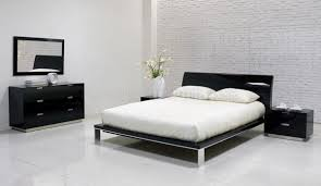 contemporary black bedroom furniture photo - 10