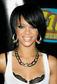 cute african american hairstyles from rihanna cute bob cut