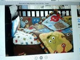 monster inc crib bedding set monsters inc crib bedding little monsters crib bedding set