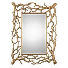 30 x 40 mirror. Gold Tree Branch Mirror 30\ 30 X 40 H