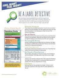 Nutrition Label Worksheet School Worksheets Matching Nutrition ...