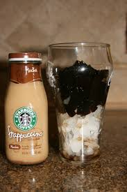 It's pretty much coffee flavoured jelly. My Version Of Starbucks Coffee Jelly Nye Noona