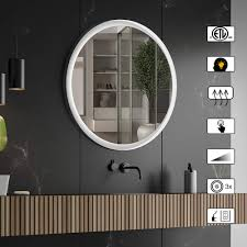 Large Light Mirror Amazon Com Ai Lighting Bathroom Mirror With Lights Large