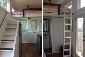 Small Picture Ladder or Stairs This Tiny House Has Both