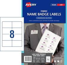 38 80 Label Avery Fabric Acetate Silk Name Badges 8