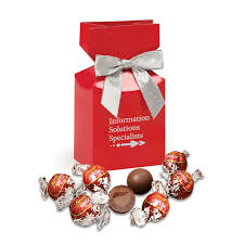 lindt lindor chocolate truffles in red premium delights gift box