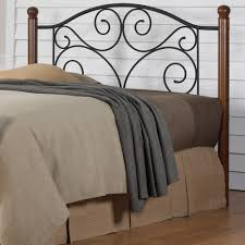 twin metal headboard. Contemporary Metal This Review Is FromDoral KingSize Headboard With Dark Walnut Wood Posts  And Metal Grill In Matte Black For Twin E