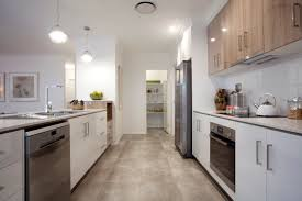 Parallel Kitchen Great Parallel Kitchen Design With Walk In Pantry At The End