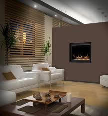 view in gallery napoleon crystallo gas modern fireplace in the bedroom