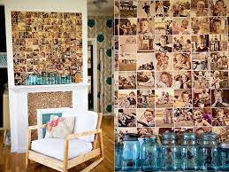 Put family photos on display in a DIY photo wall collage.