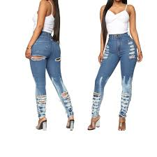 Sexy Front Back Ass Hole Denim Cut Out Stretch Skinny Jeans Woman High  Waist Ripped Butt Destroyed Jeans For Women Pencil Pants Jeans  - AliExpress