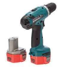 makita cordless drill. makita 6271dwpe 12v cordless drill driver (2 x 1.3ah ni-cad batteries) t