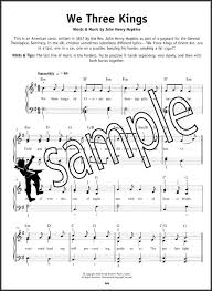 Really Easy Piano Christmas Carols Sheet Music Book Learn to Play ...