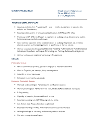 Data Processor Resume Cool Resume