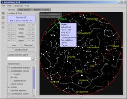 Manual Interactive Night Sky Map Astroviewer