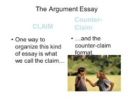 writing part argument writing ppt the argument essay counter claim claim and the counter claim format