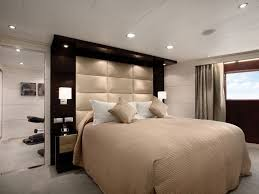 Luxury Bedroom Design with Great Wall Mounted Headboards, King Size Bed  Frame, King Size
