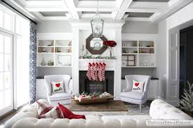 Living Room Christmas Decoration Christmas In The Formal Living Room The Sunny Side Up Blog